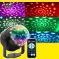 Led Party Discolamp met en 3 × 1W RGB lichten