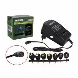 EU-standaard universele AC DC-lader adapter Converter DC 3, 4,5, 6, 7,5, 9, 12 V 30 W oplader