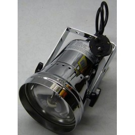 PAR36 Pinspot inclusief Lamp, Chroom