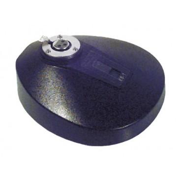 Soundlab Gegoten Microfoonstandaard met XLR-aansluiting