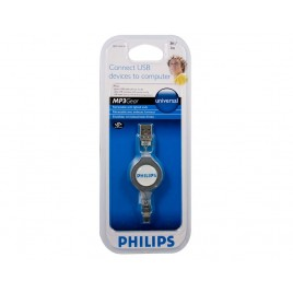 Philips Uitrekbare Mini USB Kabel, 0,8 m