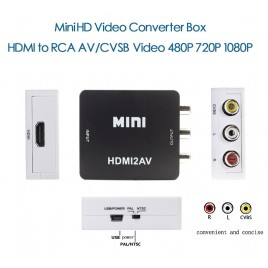 Converter HDMI naar RCA Audio/Video