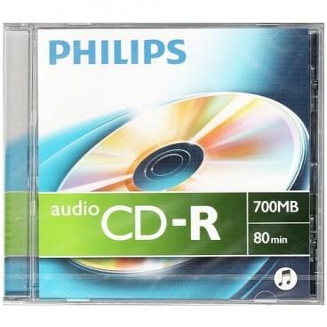 PHILIPS AUDIO CD-R | 700MB | 80 minuten