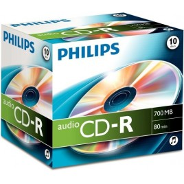 PHILIPS AUDIO CD-R | 700MB | 80 minuten