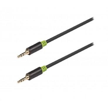 König Stereo Audiokabel 3.5 mm Male - 3.5 mm Male 10.0 m