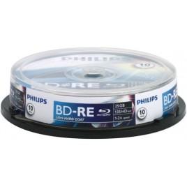 PHILIPS BD-RE 25GB REWRITABLE BLU-RAY DISC