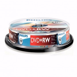 PHILIPS DVD+RW 10x SPINDEL