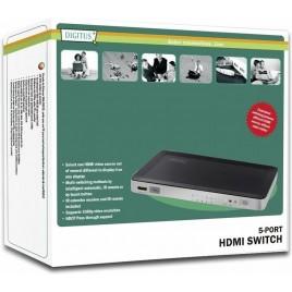DIGITUS HDMI-switch, 5 poorten