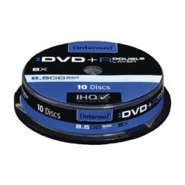 Intenso DVD+R 8,5GB 8x Double Layer Printable 10x Spindel Pakket (10 Stuks)