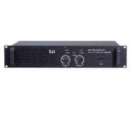 New Jersey Sound Corp 650w + 650w Eindversterker