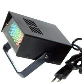 Soundlab 3 W Kleuren LED Stroboscoop