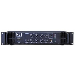 NJS PA-mengversterker, 100v-250w rms