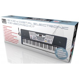 NJS 61 Key Full Size digitale elektronische Keyboard SET