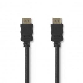 High Speed HDMI™-kabel met Ethernet | HDMI™-connector - HDMI™-connector | 20 m | Zwart