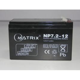 Matrix Oplaadbare Loodzuuraccu 12v / 7200 mAh