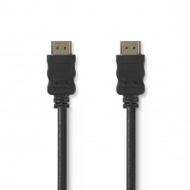 Nedis High Speed HDMI™-kabel met Ethernet | HDMI™-connector - HDMI™-connector | 7,5 m | Zwart