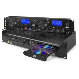 Power Dynamics Dubbele CD-/USB MP3 speler