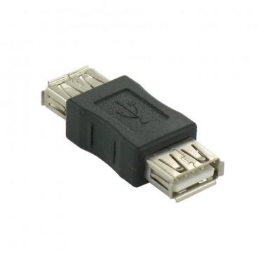 USB Koppelstuk, A Female - Female adapter