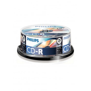 Philips CD-R spindel, 25 stuks