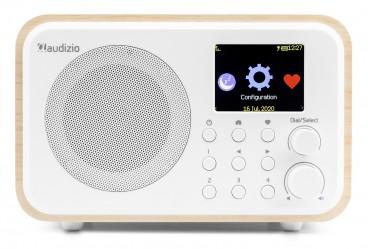 Audizio WiFi Internet Radio met batterij, Wit