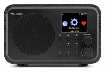 Audizio WiFi Internet Radio met batterij, Zwart