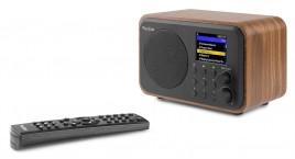 Audizio WiFi Internet Radio Met Batterij, Wood