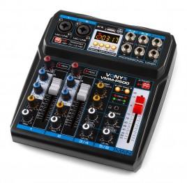 Vonyx 4-Kanaals Mixer met Bluetooth en USB